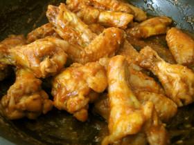 チキンウィングケチャップ煮