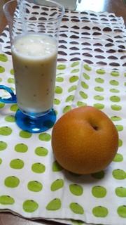 梨とヨーグルトのフレッシュジュース♪の写真