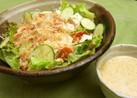 ☆ゴマドレがうまい!豆腐のサラダ☆