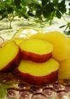 薩摩芋と林檎のハニージンジャーレモン煮