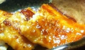 安い魚を美味しくバターしょうゆのムニエル