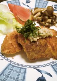 味噌マヨがミソ!鮭でジャパニーズカツレツ