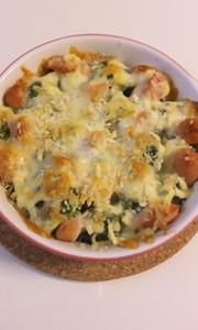 超簡単!ブロッコリーのマヨチーズ焼きの写真