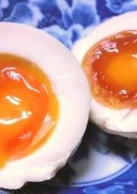 好評の味付け卵