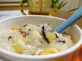 離乳食☆炊飯器で簡単炊き込みお粥~中期~
