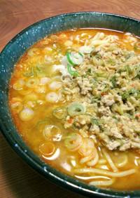 【杜氏流】担々麺☆酒粕醤油を基幹にして