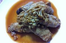 茸のピリ辛生姜焼き