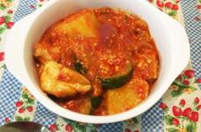 鶏肉のトマトヨーグルト煮込み
