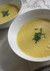 トウモロコシと玉ねぎの豆乳すり流し