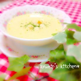 ♡簡単にコーンスープ♡
