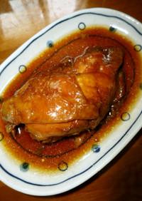 ざらめと醤油だけ☆鶏もも煮♡(甘露煮)