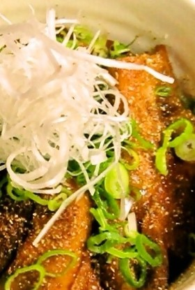 しびれ豚丼♪(帯広系の甘辛ダレで!)