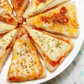 ヘルシー!ちくわdeカットピザ(チーズ)