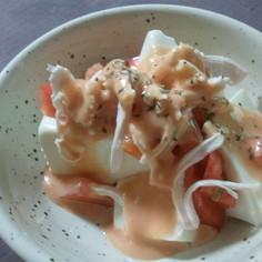チリマヨ豆腐