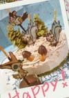 キャラデコ*ポケモン秋の誕生日栗ケーキ