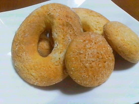 サクサク焼きドーナツ(焼型は使いません)