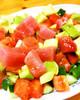 お野菜ごろごろ♪マグロとアボカドのサラダ