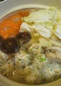 ✿白菜とキノコと肉団子のへるし~簡単鍋✿