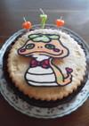 クッキーアイスケーキ~バースデー・デコで