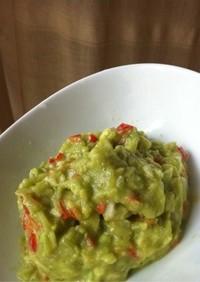 アラサー食べ痩せレシピ。アボカドディップ