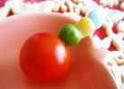 お弁当☆にカラフルプチトマト♪
