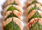 鶏ひき肉の大葉ハンバーグ
