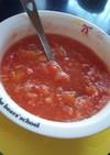妊婦さんへ♪レンジで簡単トマトスープ