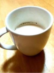 きなこ入り♡ハニージンジャーミルクの写真