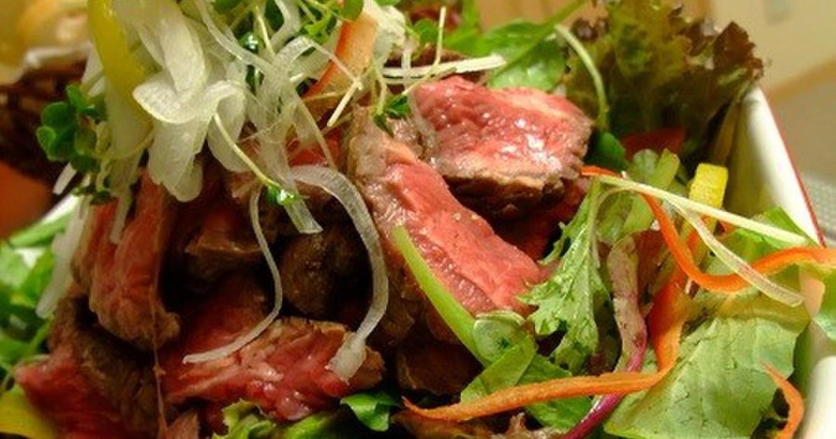 ローストビーフと野菜のカラフルディッシュ by リカミント ...