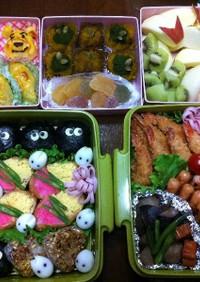 ✿2011小学校運動会のお弁当✿