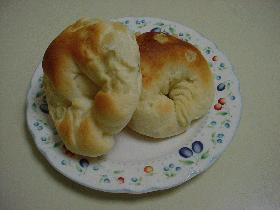 HBで簡単☆レモンピールパン