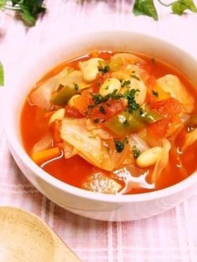 飽きずにスープ生活② トマトスープ
