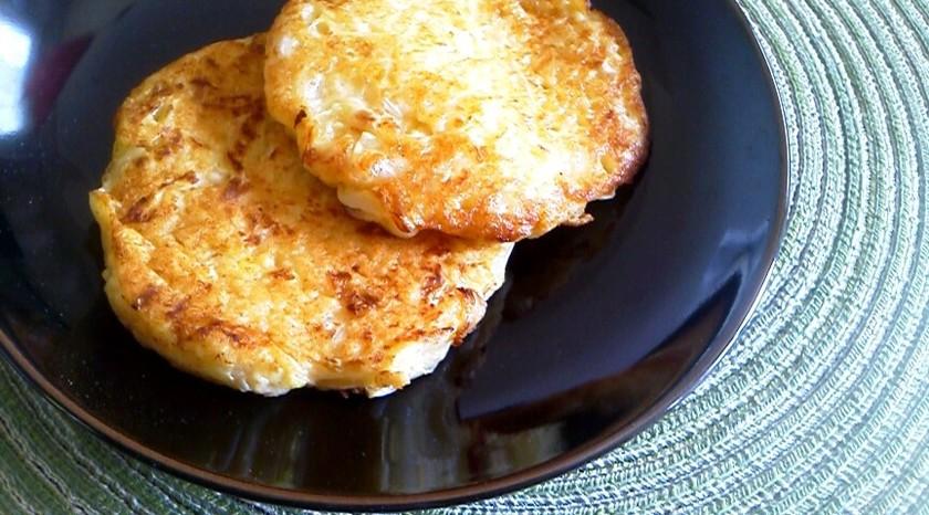 ✿離乳食✿ 山芋とキャベツのお好み焼き