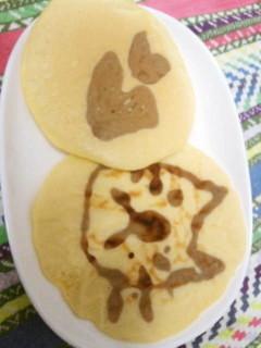 バターリッチなパンケーキ