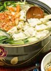 ピリッと辛いギョウザ鍋(キムチ鍋)