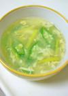 片栗粉いらず!とろーり♪たまごスープ