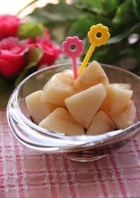 残念な果物に★はちみつバルサミコ