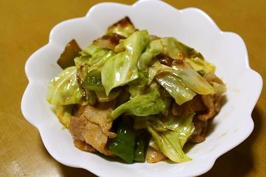 お野菜シャキシャキ回鍋肉