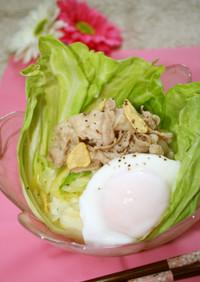 シンプルが最高♪ガーリック豚マヨ丼