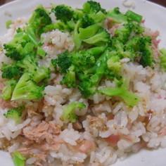 茗荷・ツナ・ブロッコリーのちらし寿司