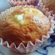 サツマイモと豆乳のカップケーキ