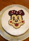 ミニーちゃんのチーズケーキ