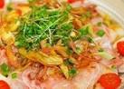 ✿鯛のカルパッチョ柚子胡椒ドレッシング✿