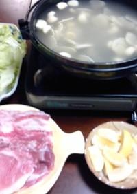 風邪が吹っ飛ぶスタミナ鍋♪
