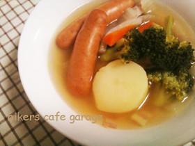 コンソメで簡単ポトフスープ