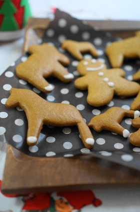 スウェーデン冬の定番☆ジンジャークッキー