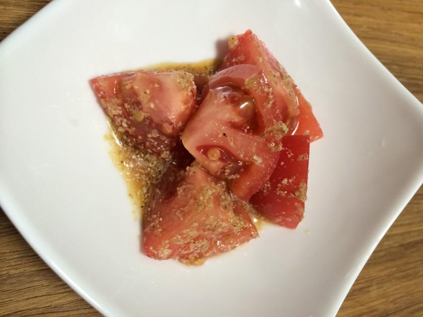 トマトだけ 中華トマトサラダ