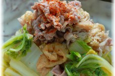 ✿牛肉と白菜の炊いたん✿