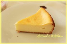 しっとり濃厚ベイクドチーズケーキ