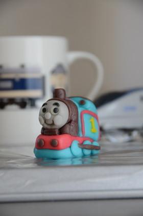機関車トーマス(マジパン細工)